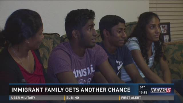 The Randeniya family has been trying to gain U.S. citizenship since 2005, when they moved to the states on a visitors visa.