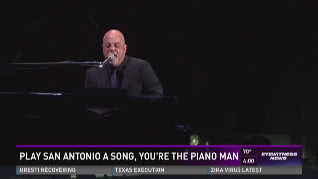 Billy Joel coming to San Antonio