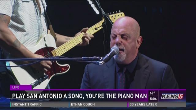 Billy Joel coming to S.A. in only Texas stop
