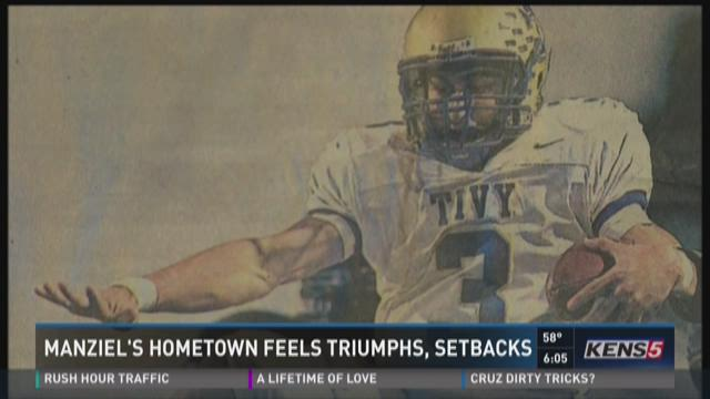 Manziel's hometown feels triumphs, setbacks