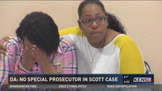 DA: No special prosecutor in Scott case