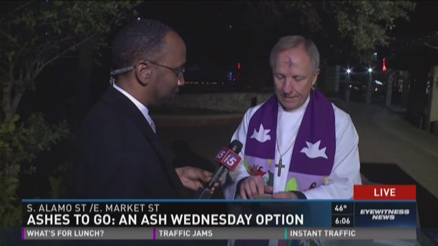 Ashes to go: An Ash Wednesday option