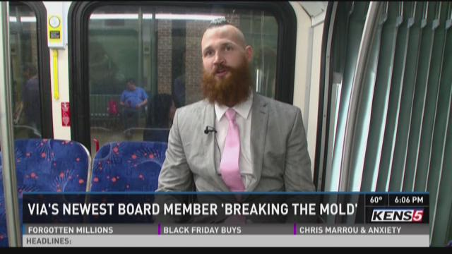 VIA's newest board member breaking the mold