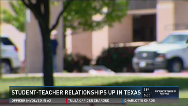 Texas teacher dating student