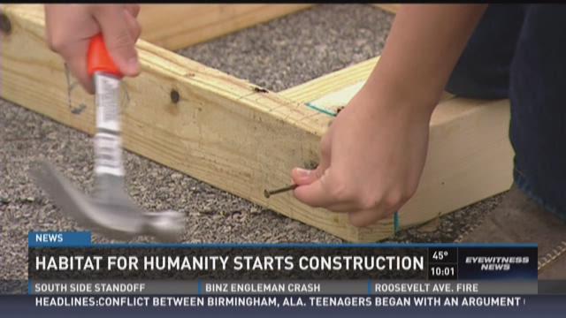 Habitat for Humanity starts construction