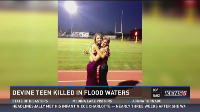Community mourns HS homecoming queen killed in flood waters