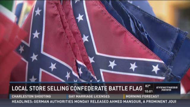 Dixie flag co will keep selling confederate flag