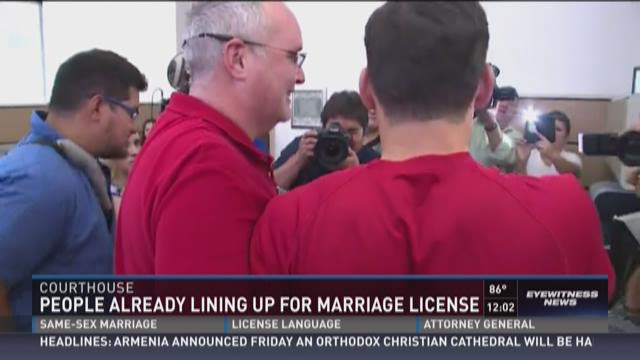 Same sex marriage ruling