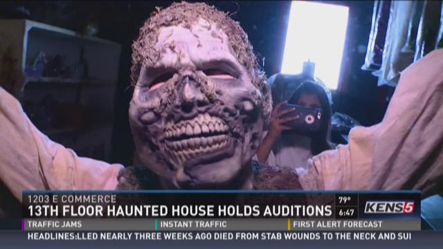 13th floor haunted house holds auditions