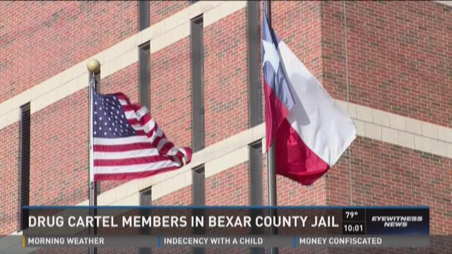 Drug cartel members in Bexar County Jail