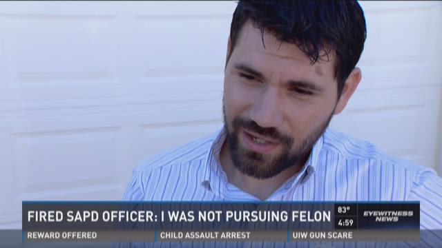 Leroy Medlin Jr. speaks with Dillon Collier Tuesday