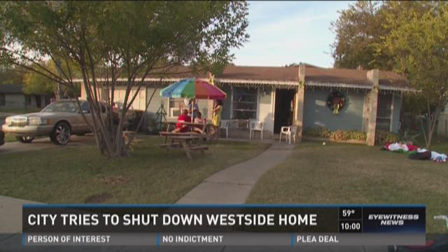 City tries to shut down west-side home